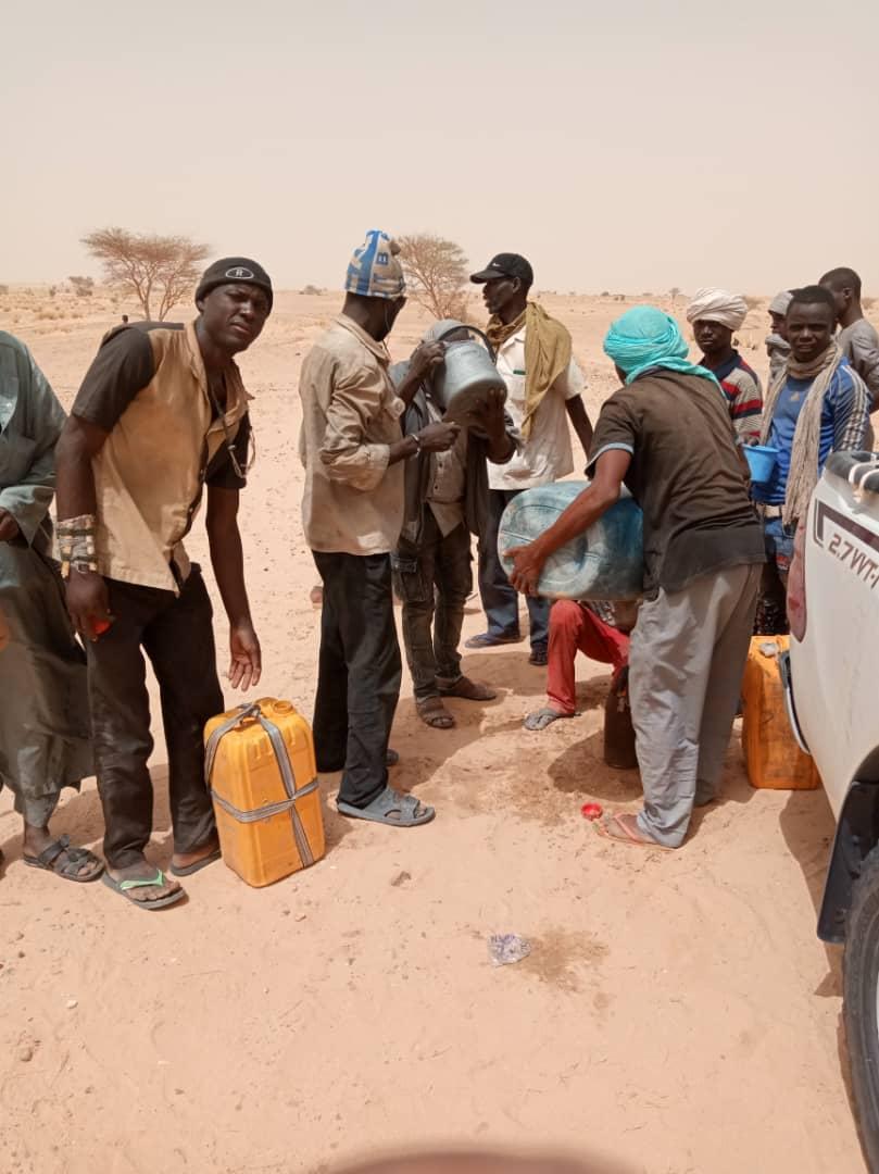 Rettungsaktion an der lybisch-nigrischen Grenze