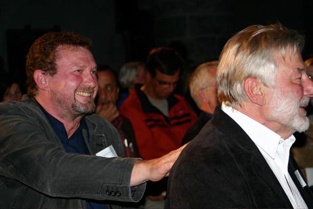 Elias Bierdel und Stefan Schmidt