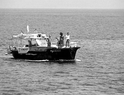 2. Juli 2004: Die Motoryacht