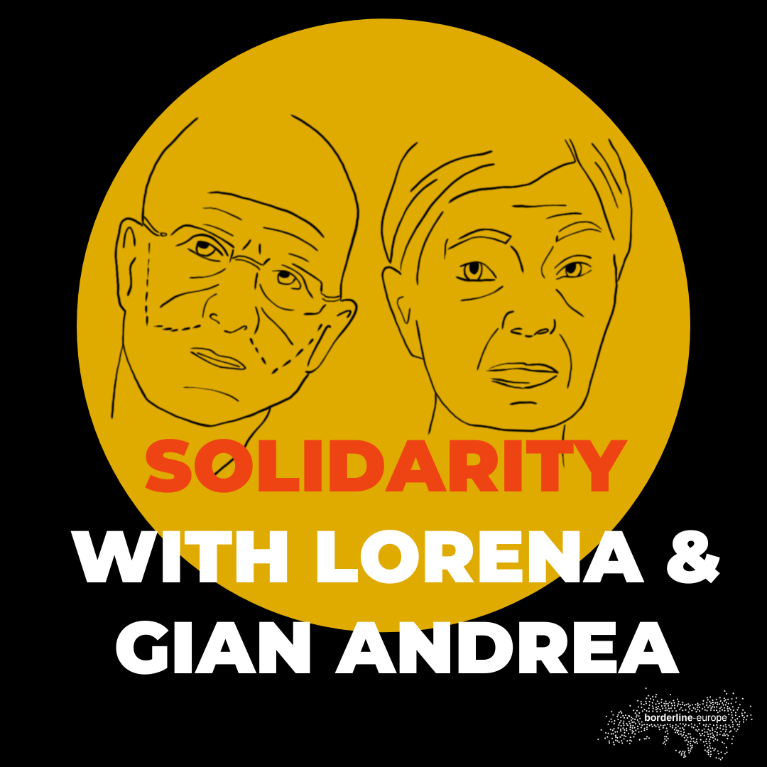 Solidarity with Gian Andrea Franchi and Lorena Fornasir