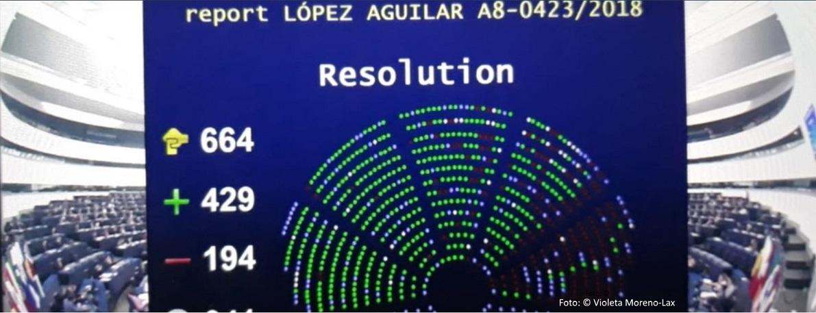 European Parliament: Motion on humanitarian visas passed