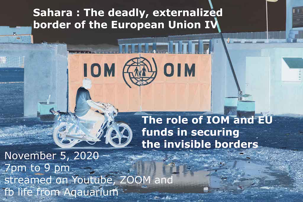 05.11.: IV Externalisation conference: IOM & EU in the Sahara