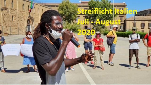 Streiflicht Italien Juli - August 2020